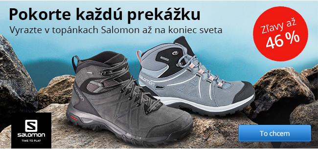 Treková obuv Salomon