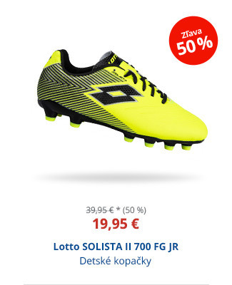 Lotto SOLISTA II 700 FG JR