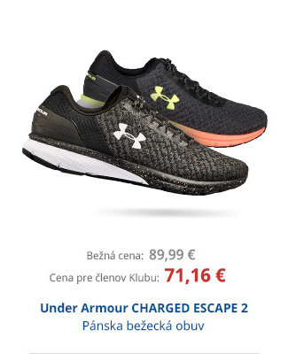 Under Armour CHARGED ESCAPE 2