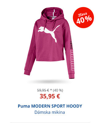Puma MODERN SPORT HOODY