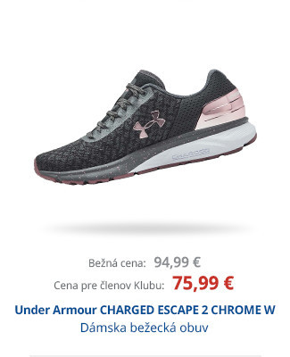 Under Armour CHARGED ESCAPE 2 CHROME W