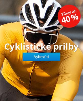Cyklistické prilby zľavy až 40%