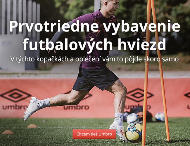 Umbro: Prvotriedne vybavenie futbalových hviezd
