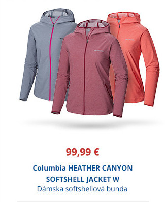 Columbia HEATHER CANYON SOFTSHELL JACKET W