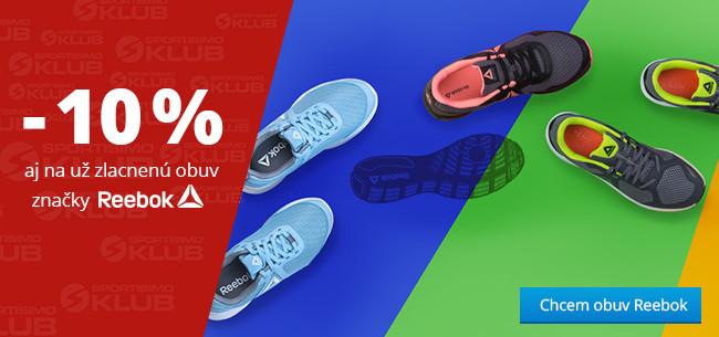 DNI KLUBU SPORTISIMO - obuv Reebok so zľavou 10%