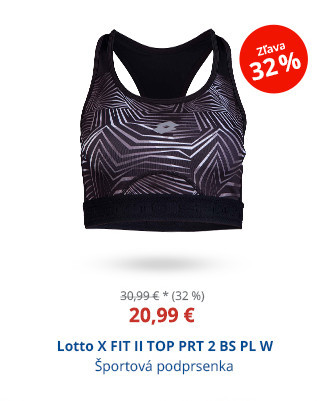 Lotto X FIT II TOP PRT 2 BS PL W