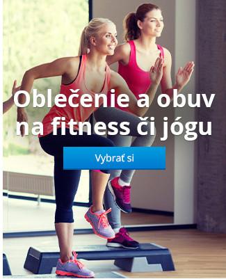 Oblečenie a obuv na fitness či jógu