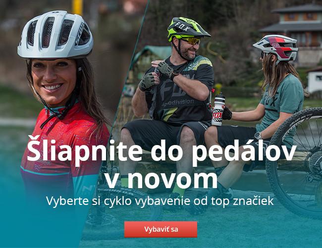 Cyklistické potreby a vybavenie