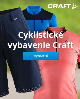 Cyklistické vybavenie Craft
