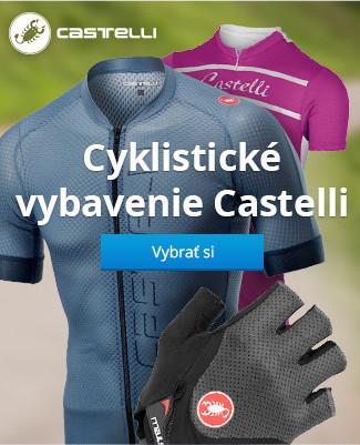 Cyklistické vybavenie Castelli