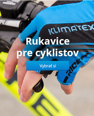 Rukavice pre cyklistov