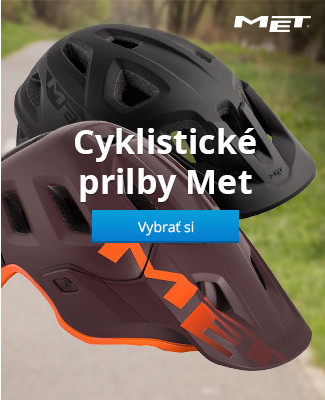 Cyklistické prilby Met
