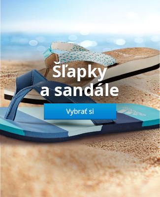 Šľapky a sandále
