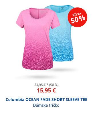 Columbia OCEAN FADE SHORT SLEEVE TEE