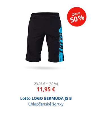 Lotto LOGO BERMUDA JS B