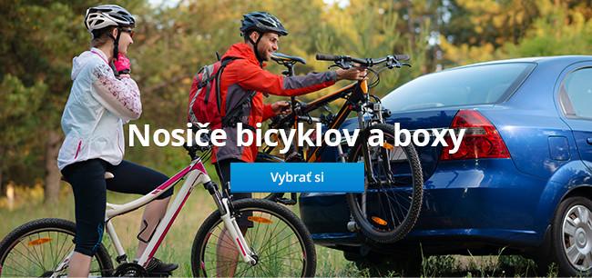 Nosiče bicyklov a boxy