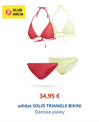 adidas SOLID TRIANGLE BIKINI