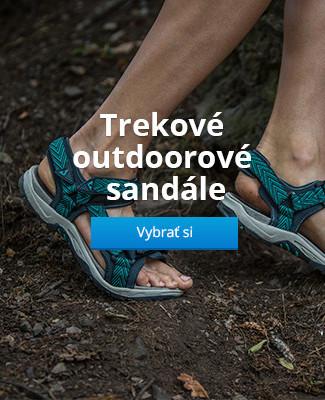 Trekové outdoorové sandále