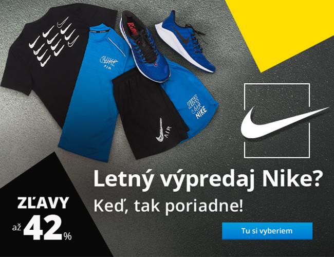 Letný výpredaj Nike