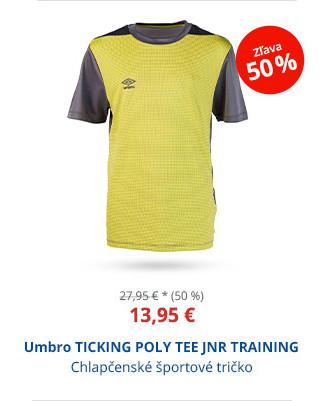Umbro TICKING POLY TEE JNR TRAINING