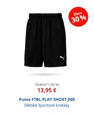Puma FTBL PLAY SHORT JNR