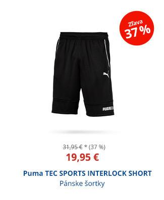 Puma TEC SPORTS INTERLOCK SHORT