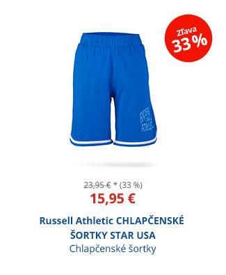 Russell Athletic CHLAPČENSKÉ ŠORTKY STAR USA