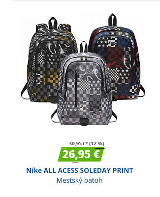 Nike ALL ACESS SOLEDAY PRINT
