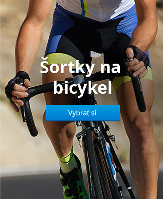 Šortky na bicykel
