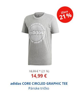 adidas CORE CIRCLED GRAPHIC TEE