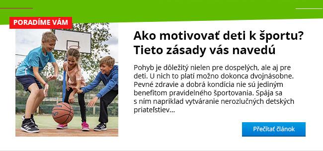 Ako motivovať deti k športu