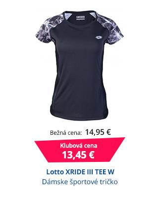 Lotto XRIDE III TEE W
