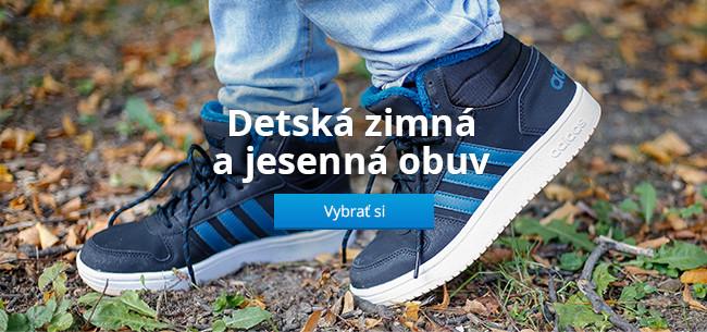 Detská zimná a jesenná obuv
