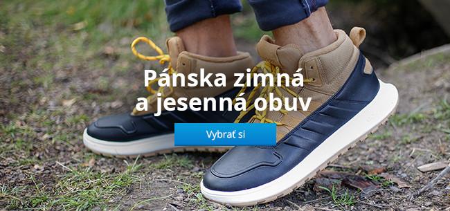 Pánska zimná a jesenná obuv