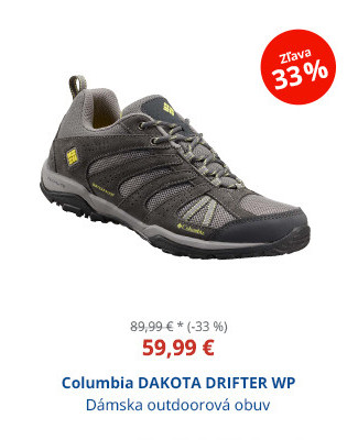 Columbia DAKOTA DRIFTER WP