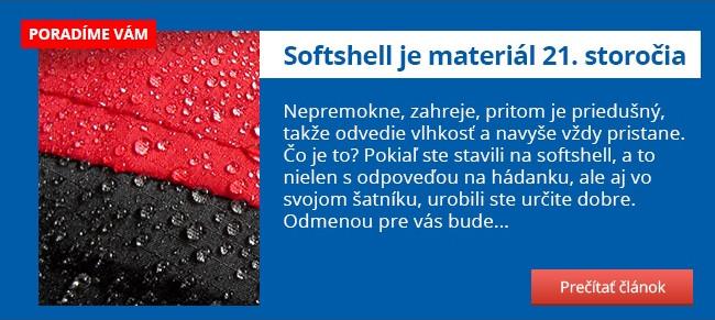 Softshell je materiál 21. storočia