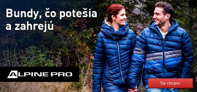 Bundy a kabáty Alpine Pro