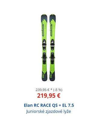 Elan RC RACE QS + EL 7.5