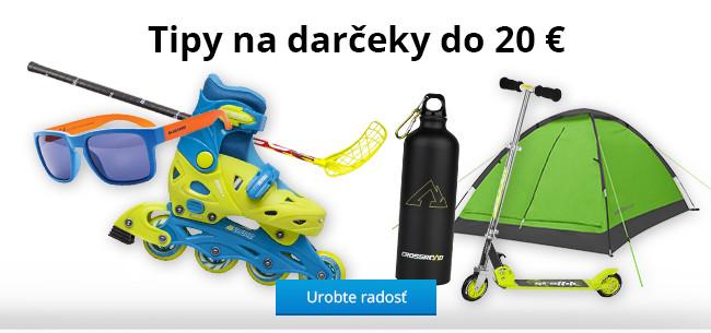 Tipy na darčeky do 20 €