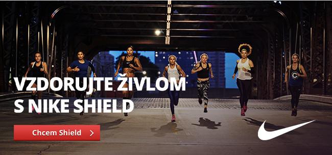 Bežecká kolekcia Nike Shield