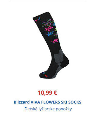 Blizzard VIVA FLOWERS SKI SOCKS