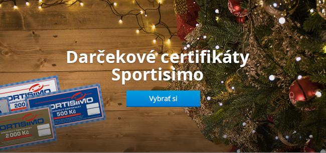 Darčekové certifikáty Sportisimo