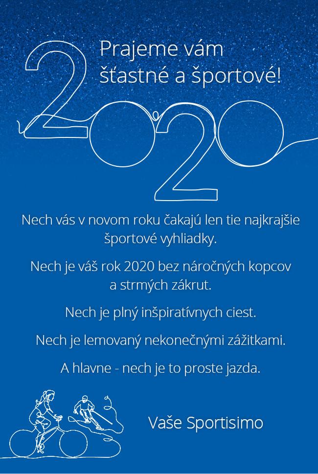 Štastný a športový rok 2020