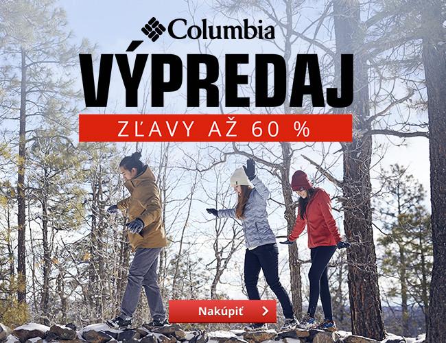 Výpredaj Columbia