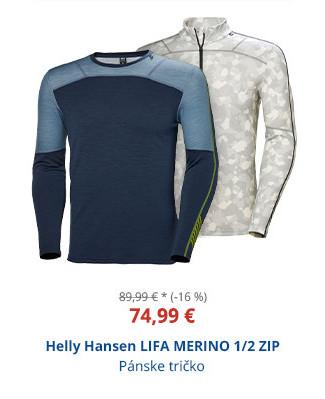 Helly Hansen LIFA MERINO 1/2 ZIP