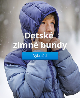 Detské zimné bundy