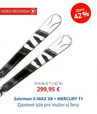 Salomon X-MAX X8 + MERCURY 11