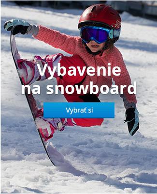Vybavenie na snowboard