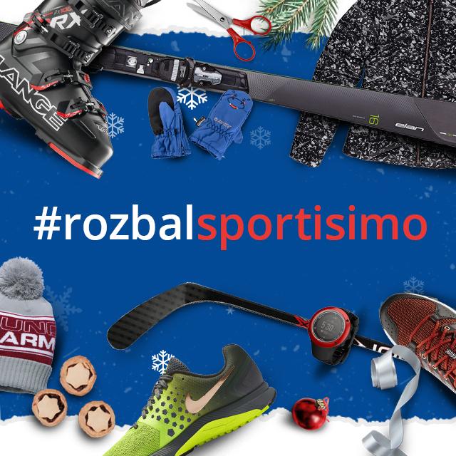 #rozbalsportisimo: Sdílejte radost z dárků na Instagramu!