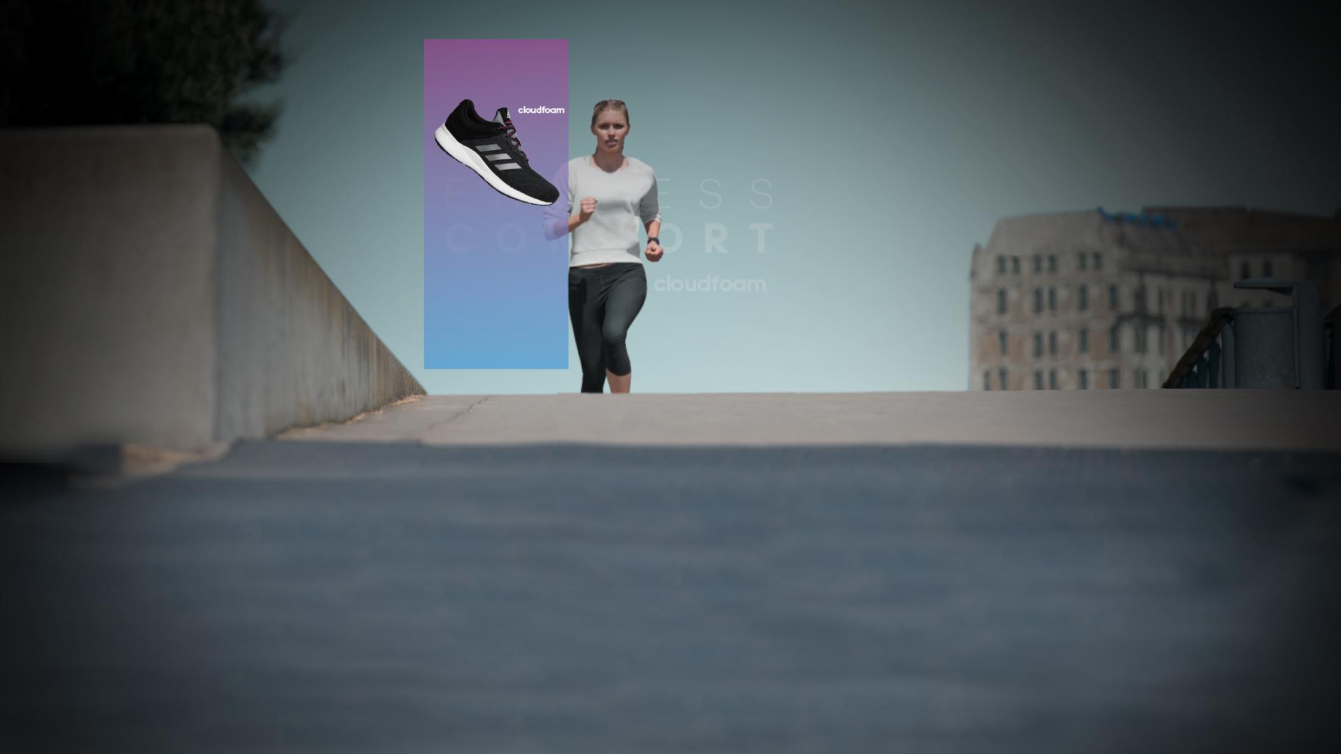 Došlapujte měkce jako kočka s technologií CLOUDFOAM v botách adidas